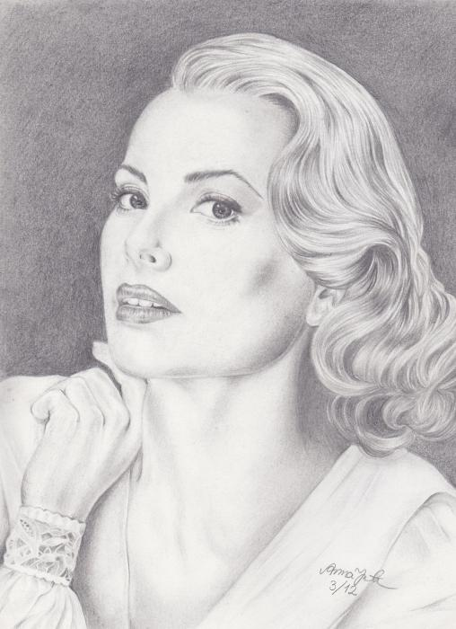 Grace Kelly par AnnaKatariina
